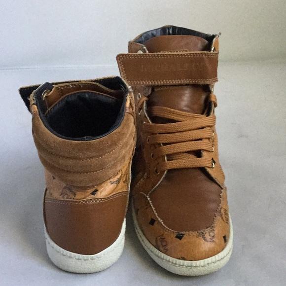 5632e621c88 MCM Shoes - MCM Women s Hightop Sneakers 38